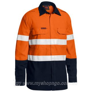 Taped Hi Vis FR Lightweight Shirt BS8237T-TT02