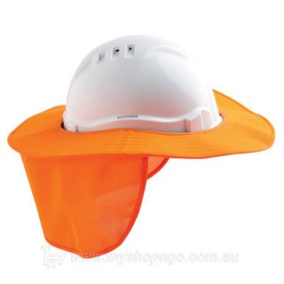 Hard Hat Brim Polyester orange