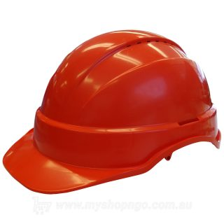 Long Peak Hard Hat Orange
