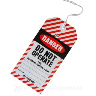 Safety Tag DANGER DO NOT OPERATE