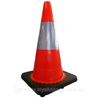Traffic Cone 450mm Reflective - Orange