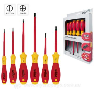 Wiha 1000v 6-Piece Screwdriver Set