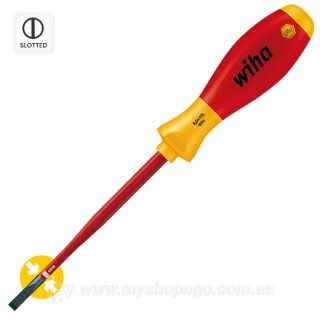 Wiha 1000v Screwdriver slimFix Slotted