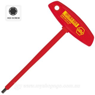 Wiha 5mm 1000V T-Handle Hex Screwdriver