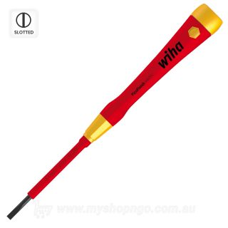 Wiha 1000v Screwdriver PicoFinish Slotted