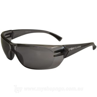 Smoke Anti-Fog Portland Series Safety Glasses EPO313