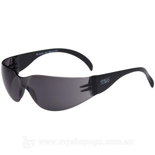 Anti-Fog Texas Series Safety Glasses Smoke