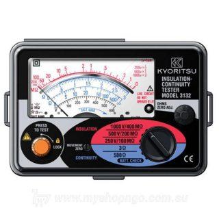 The Kyoritsu 3132A Analogue Insulation Tester category III 300V