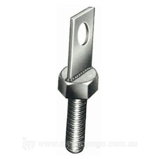 pillar bolt with flat extension
