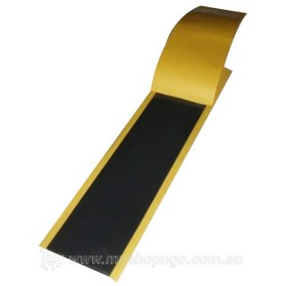 Black mastic tape sealant, 300mm long x 60mm wide
