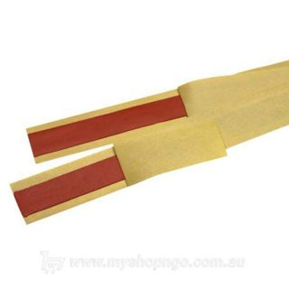 Red Mastic Tape Strip, 20mm wide x 600mm long