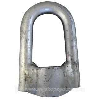M20 Galvanised Steel Eye Nut
