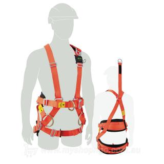 Line Worker Harness - Miller Elite.2