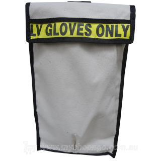 Double Pocket Velcro Canvas Glove Bag