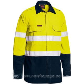 Taped Hi Vis FR Lightweight Shirt BS8237T-TT01